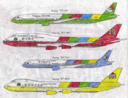 Eurasia Airlines Group Plane Livery by MaxCheng95