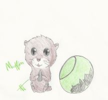 :COM: Muffin the hamster by Eduardathewolf