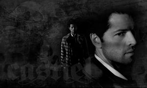 Castiel: Banner1 by BelovedBastet