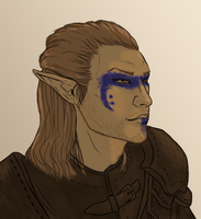 Lubomir (regular-with warpaint) by lisaarevalo