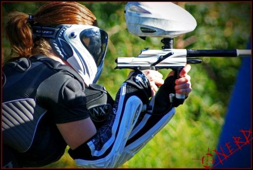 Paintball girl by Isabella3