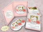 Wedding Dvd Case Floral - Photoshop Templates by constantine80