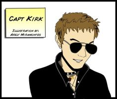 Captain Kirk by Romantically-Geeky