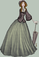 .:Victorian Day Dress:. by FionaCreates