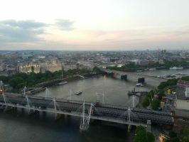 View from the london eye (4) by melody1720
