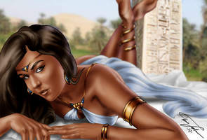Amunet in the Sun by Hyde209