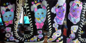 Fancy Kitty Super High Kicks by marywinkler