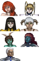 Sapere Aude Headshots by Shattered-Earth