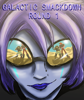 Galactic Smackdown OCT: Round 1 Cover by Cynthetic-art