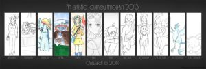 Art Summary 2013 by foreverCTY