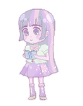 Pastel Pixel Twilight Sparkle by kuribitah