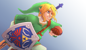 Legend of Zelda 30th Anniversary by Furin94