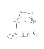 Annoying cat animation :v by crazygrin