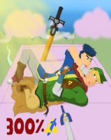 Link and Ike as One?! by frooooooo