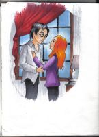 Harry and Ginny by KittyNamedAlly