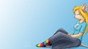 Gadget with Rainbow Dash shirt Wallpaper by wdeleon