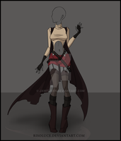 (CLOSED) Adoptable  outfit Auction  - 3 by Risoluce