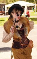 Steampunk gone Burlesque by AyraLeona