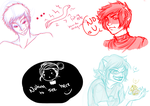 Tiny Doodle Dump by Doctor-Ita