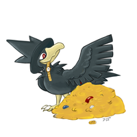 Murkrow by Eltharion