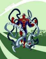 Mannuzza Octo-Spiderman by Mannuzza