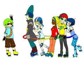 The GG's Meet Yoyo COLORED by supersam4ever08