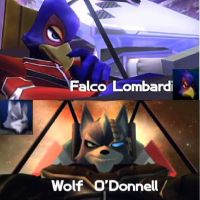 Falco and Wolf :Assault: by Demonwolf89