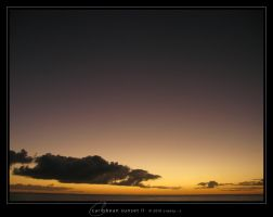 Caribbean Sunset II by Crooty