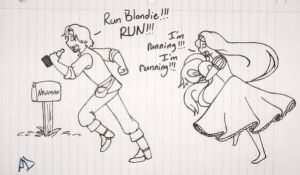 Run Blondie by MissyAlissy