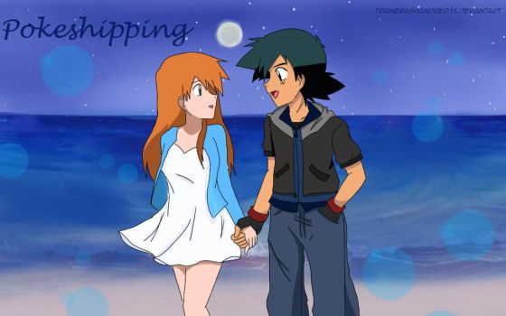 Valentines Entry : Pokeshipping by TrainerAshandRed35