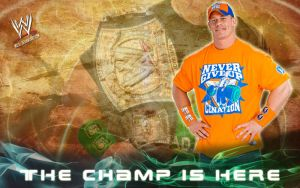 John Cena - The Champ Is Here by mclili