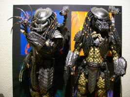 Hot Toys Scar and Celtic Predator by ShadowPredator2012