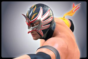 VIRTUA LUCHADOR by cybaBABE