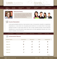 Leads Academy web page1 by decolite