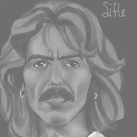 George Harrison again x 3 by Sifle