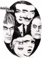 Addams Family by stevemadonna