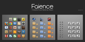 Faience icon theme by tiheum