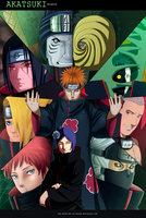 Akatsuki Tribute Collab by Luisseb