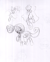 Frostie, Sketches by FrostieFilly