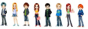 Harry Potter: Next Gen. Dollz by Az-Kat