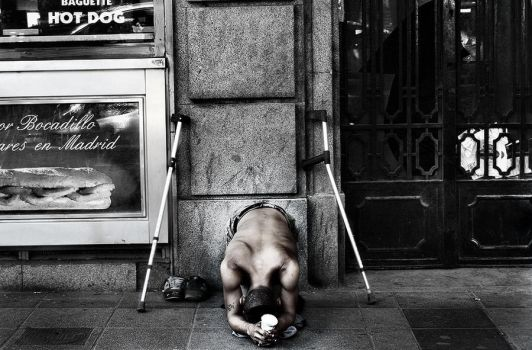 Poverty by anacoluthon