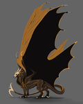 Reaper Dragon (auction) by nyface