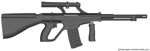 Non-bullpup Steyr AUG by Robbe25