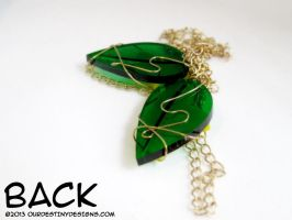 Sharable Paopu Fruit Necklaces (Back) by OurDestinyDesigns