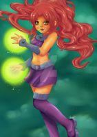 Starfire ~ by moonshadebutterfly