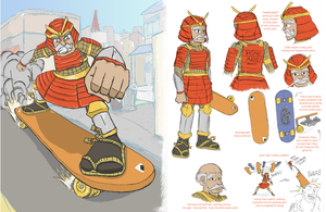 Hero: Johnny Skid by SwallowCut