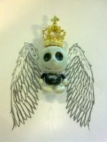 Jack Skelington King of Angels by cbluv