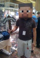 Minecraft Guy Cosplay by Arogazia