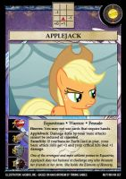Applejack card by Trivial1888