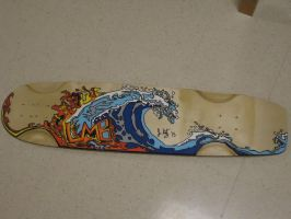 Paul's longboard by LiberatedWing